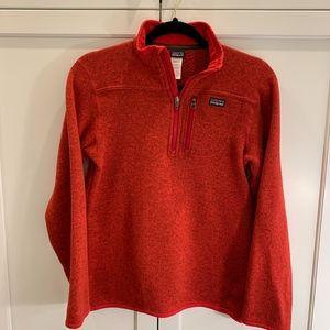 Patagonia Boys XL 1/4 Zip Better Sweater